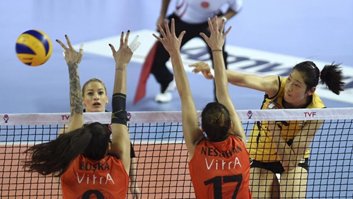 Turkish Women Volleyball League Playoff match: Vakifbank vs Eczacibasi