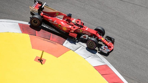 In pics: 3rd practice session of Formula One Russian Grand Prix