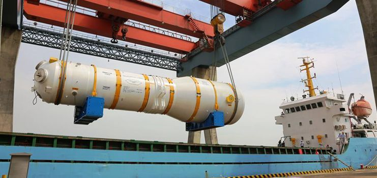Domestic steam generator headed for nuclear power plant