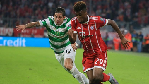 Bayern beat Celtic 3-0 in UEFA Champions League