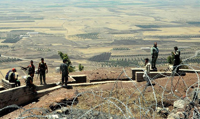 Syrian army captures strategic hill in Daraa
