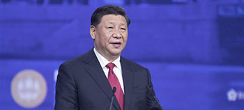 President Xi visits Russia, attends 23rd St. Petersburg Int'l Economic Forum