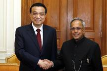 Premier Li calls for more Sino-Indian cooperation