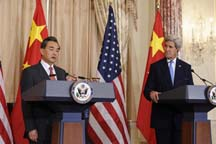 Chinese Foreign Minister Wang Yi visits U.S.
