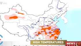 China's weather authorities issue heatwave alerts